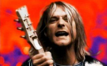 Kurt Cobain nel video di Anton Corbijn Heart Shaped Box