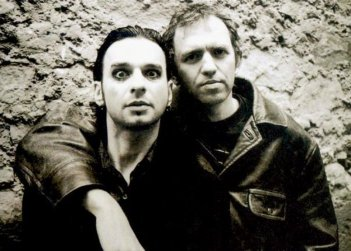 Anton Corbijn con Dave Gaham dei Depeche Mode