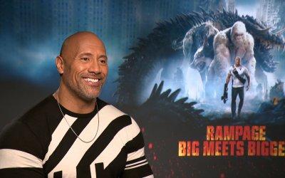 """Rampage, The Rock: """"Le persone sono come gli animali: se gli piaci ti leccano, altrimenti mordono"""""""