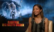 "Naomie Harris su Rampage: ""Ho fatto un monster movie per allontanarmi da Moonlight"""
