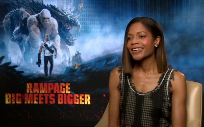 "Naomie Harris su Rampage: ""Ho fatto un monster movie per allontanarmi da Moonlight"""