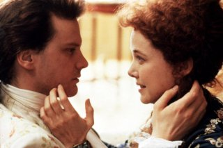 Colin Firth e Annette Bening in Valmont
