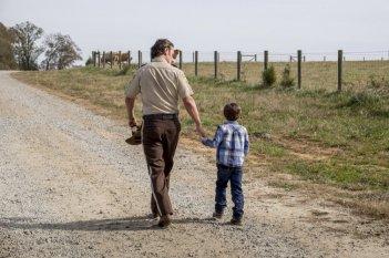 The Walking Dead: un momento dell'episodio Wrath