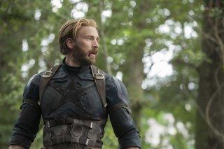Avengers: Infinity War, Chris Evans in una scena del film