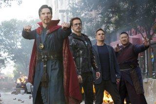 Avengers: Infinity War, una foto del film