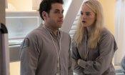 Maniac: le prime foto della serie con Emma Stone e Jonah Hill