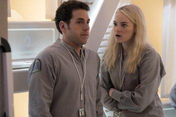 Maniac: una foto della nuova serie Netflix