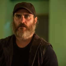 You Were Never Really Here: Joaquin Phoenix in una scena del film
