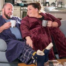 This Is Us: Chris Sullivan e Chrissy Metz in una foto della seconda stagione