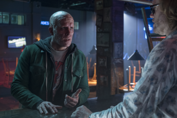 Deadpool 2: Ryan Reynolds in una scena del film