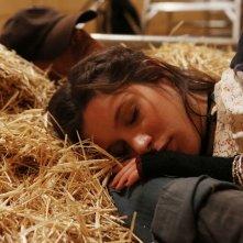 Il mio nome è Thomas: Veronica Bitto e Terence Hill in un'immagine tratta dal film