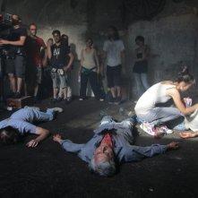 La banalità del crimine: un'immagine dal set del film