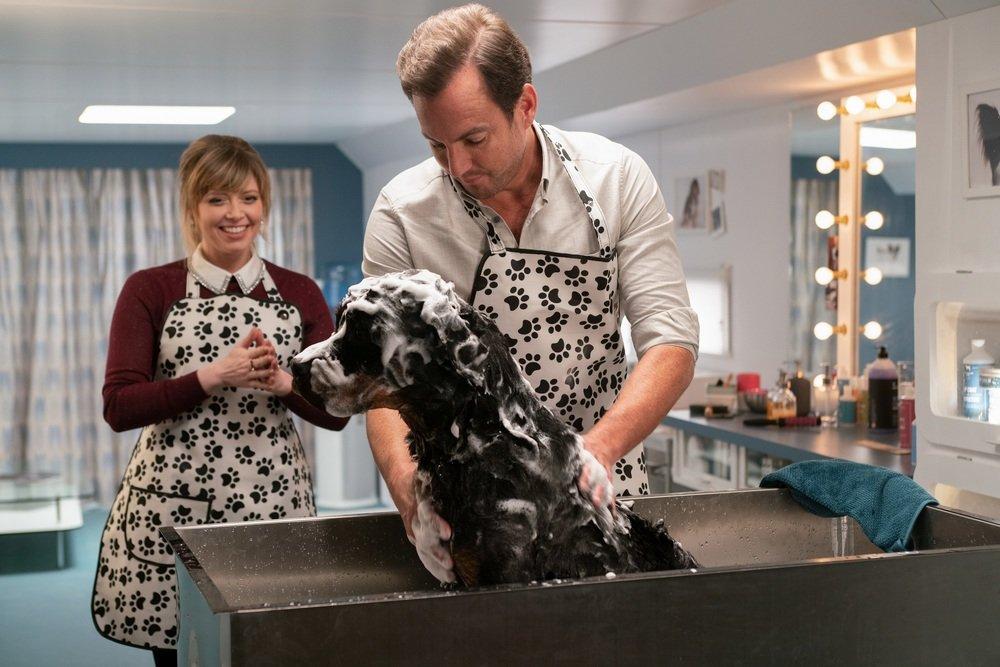 Show Dogs - Entriamo in scena: Will Arnett e Natasha Lyonne in un'immagine tratta dal film