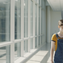 They: Rhys Fehrenbacher in una scena del film