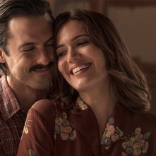 This Is Us: una foto dei protagonisti Milo Ventimiglia e Mandy Moore