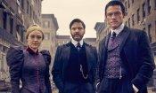 The Alienist: Daniel Bruhl, Dakota Fanning e Luke Evans presentano la serie Netflix a Roma