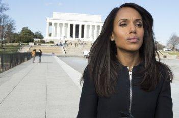 Scandal: Kerry Washington in una foto dell'ultimo episodio della serie