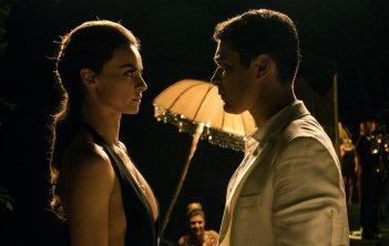 Loro 1: Riccardo Scamarcio e Kasia Smutniak in un momento del film