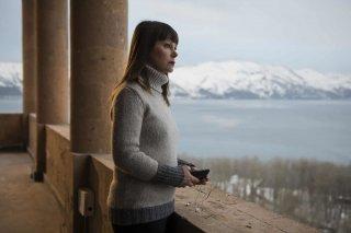 Hotel Gagarin: Barbara Bobulova in una scena del film