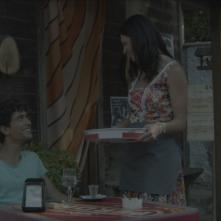 Le grida del silenzio: Luca Avallone e Cosetta Turco in una scena del film