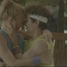 Le grida del silenzio: Luca Avallone e Alessandra Carlesi in una scena del film