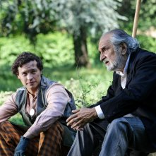 Nobili bugie: Federico Tolardo e Nini Salerno in una scena del film