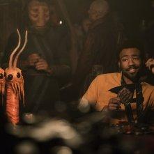 Solo: A Star Wars Story, Donald Glover in una foto del film