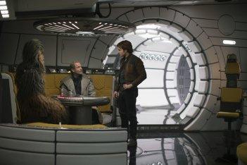Solo: A Star Wars Story, una foto dei protagonisti