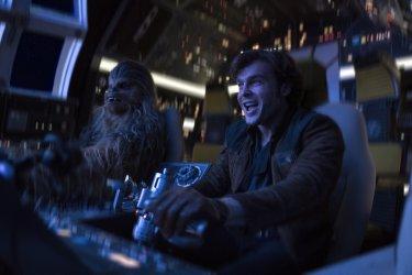 Solo: A Star Wars Story, Alden Ehrenreich in una foto del film
