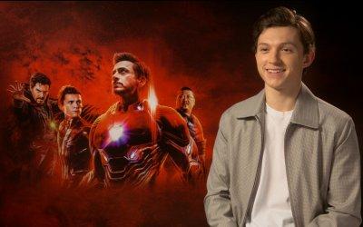 "Avengers: Infinity War, Tom Holland: ""Captain America sul set balla sempre il tip-tap!"""