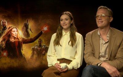 """Paul Bettany su Infinity War: """"Con Elizabeth non abbiamo mai litigato, nemmeno quando le ho dato una testata"""""""