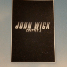 John Wick: Chapter 3, il teaser poster del film