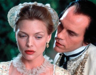 Le relazioni pericolose: Michelle Pfeiffer e John Malkovich in una scena del film