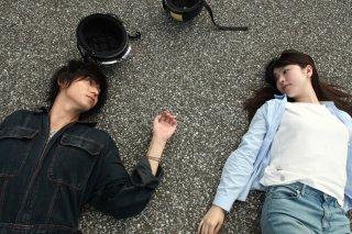 Asako I & II: una scena del film