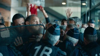 At War: Vincent Lindon in un'immagine del film di Brizé
