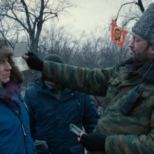 Donbass: una scena del film