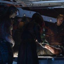 Avengers: Infinity War - I Guardiani della Galassia in un'immagine del primo trailer