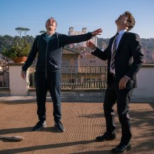 Euforia: Riccardo Scamarcio e Valerio Mastandrea in un momento del film