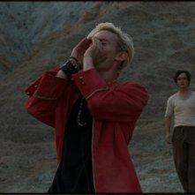 Lazzaro felice: Adriano Tardioli e Luca Chikovani in un'immagine tratta dal film