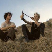Lazzaro felice: Adriano Tardioli e Luca Chikovani in un momento del film
