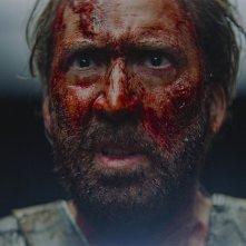 Mandy: un primo piano di Nicolas Cage