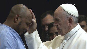 Pope Francis: A Man of His Word, Papa Francesco in un'immagine del documentario