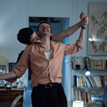 Sorry Angel: Vincent Lacoste e Pierre Deladonchamps in una scena del film