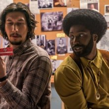BlacKkKlansman: Adam Driver e  John David Washington in una foto del film