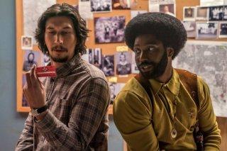 BlacKkKlansman: Adam Driver e  John David Washington in una foto del film