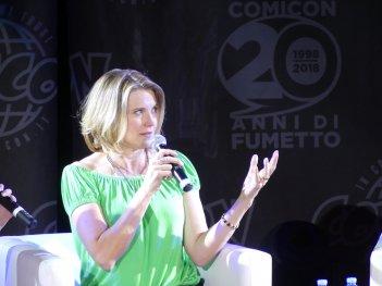Comicon 2018: Lucy Lawless all'incontro con il pubblico