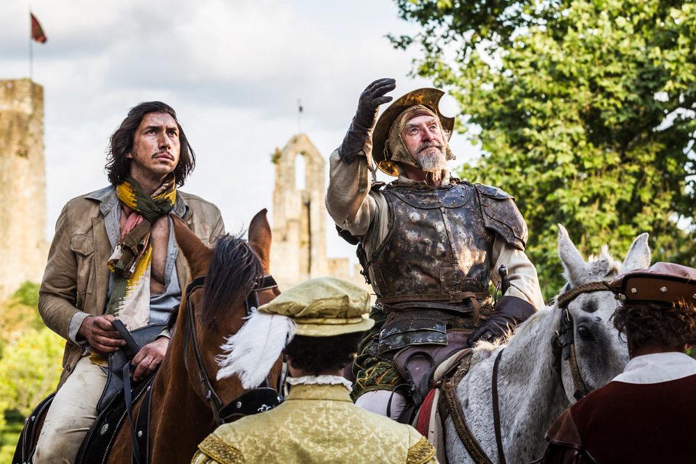 The Man Who Killed Don Quixote: Jonathan Pryce e Adam Driver in un momento del film