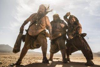 The Man Who Killed Don Quixote: una scena del film