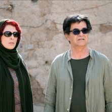 Three Faces: Behnaz Jafari e il regista Jafar Panahi sul set del film