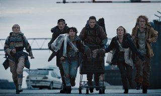 The Rain: il cast in una scena concitata